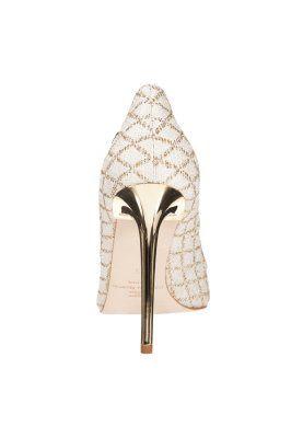 Elisabetta Franchi Scarpe Czolenka Avorio Zalando Pl Wedding Shoes Shoes Elisabetta Franchi