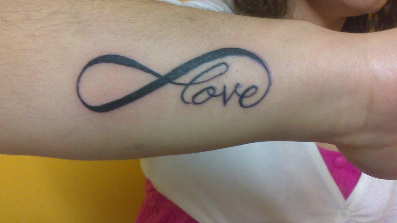Tattoo tatouage infini lettrage avant bras tatouages - Tattoo avant bras ...