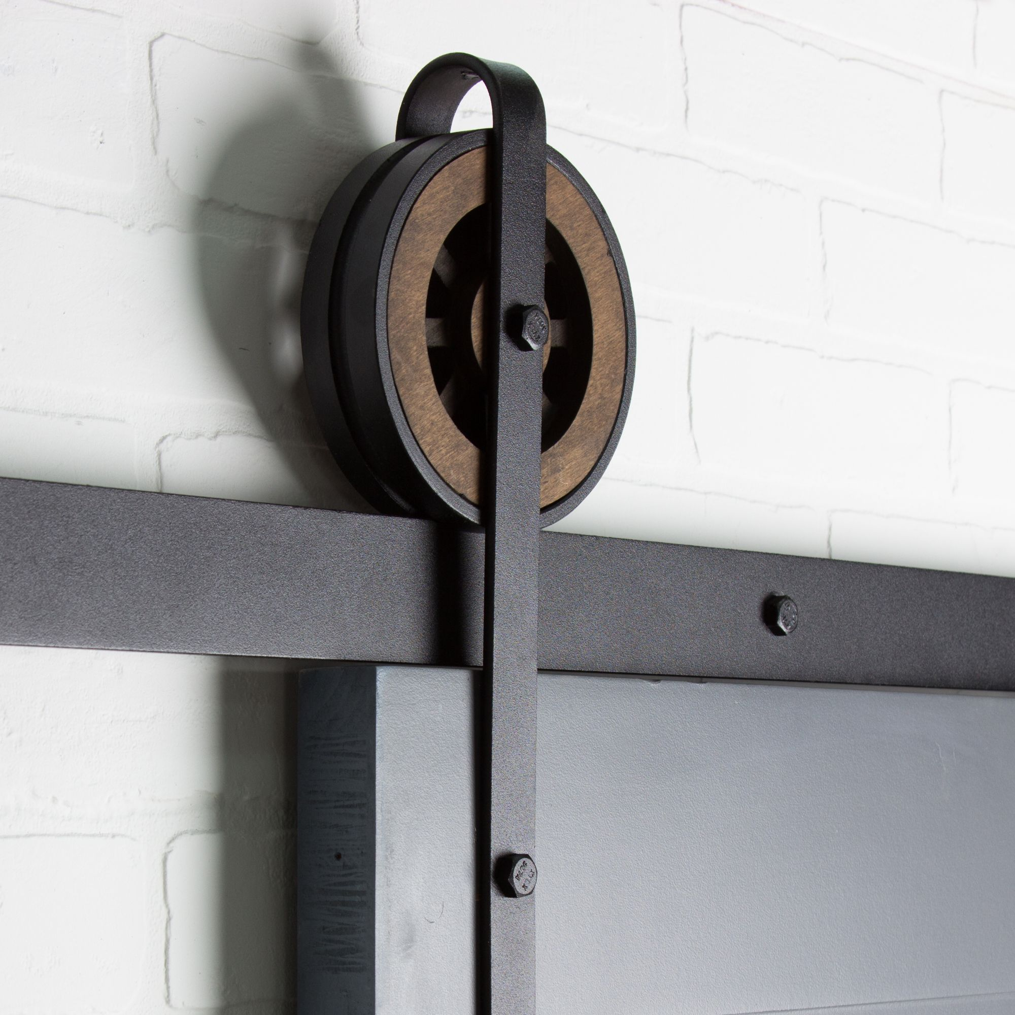 Handcrafted and approved by Artisans - our Artisan Barn Door Hardware is the perfect combination of steel, wood and vintage straps. Free shipping available.