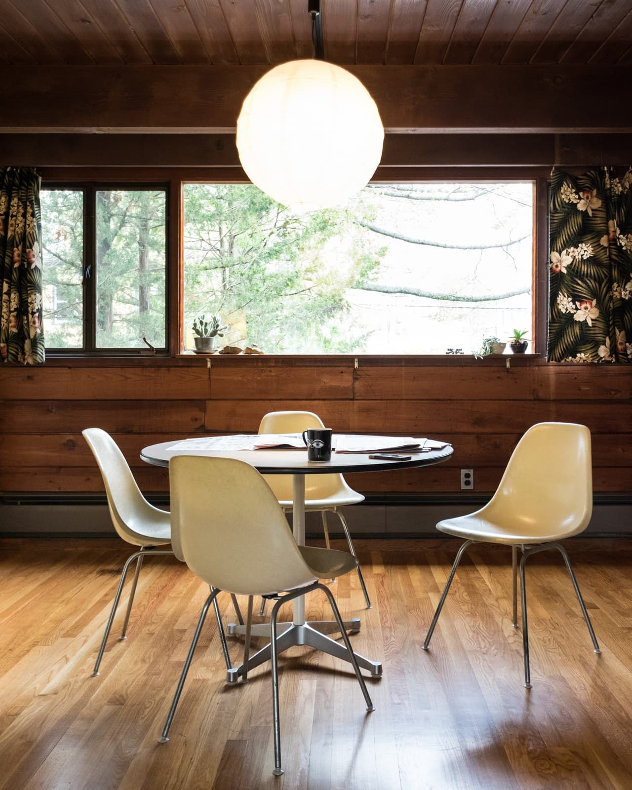 Eames dining set