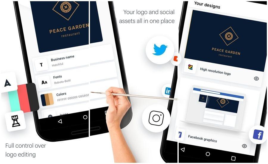 10 Aplikasi Desain Logo Android Gratis Terbaik Droid.ly