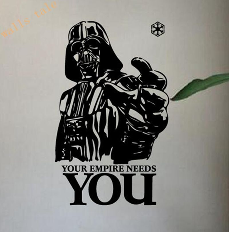 Star wars vinyl wall decals home decoration star wars wall stickers your