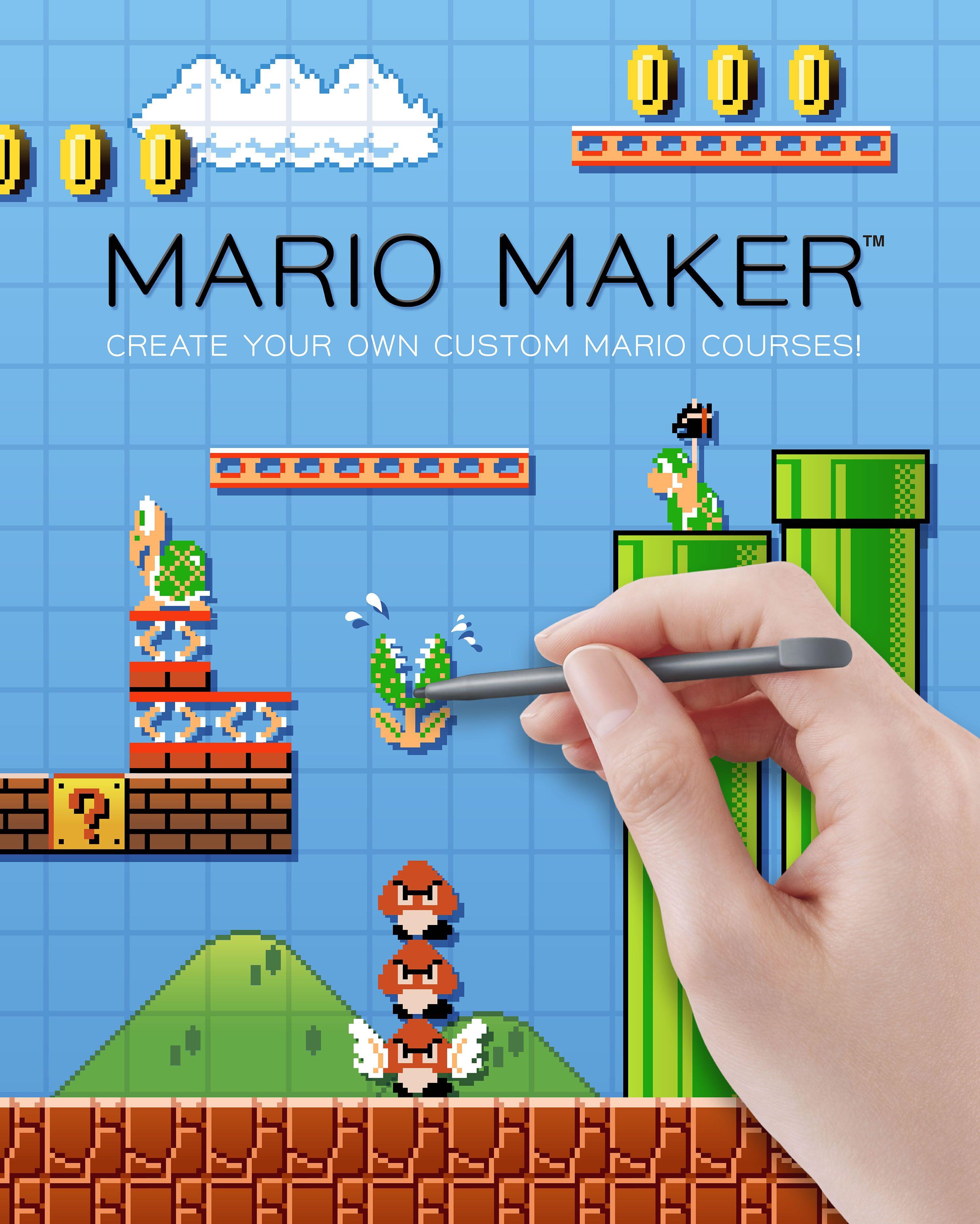 Creating Our Own Levels In Mario Maker Super Mario Super Mario