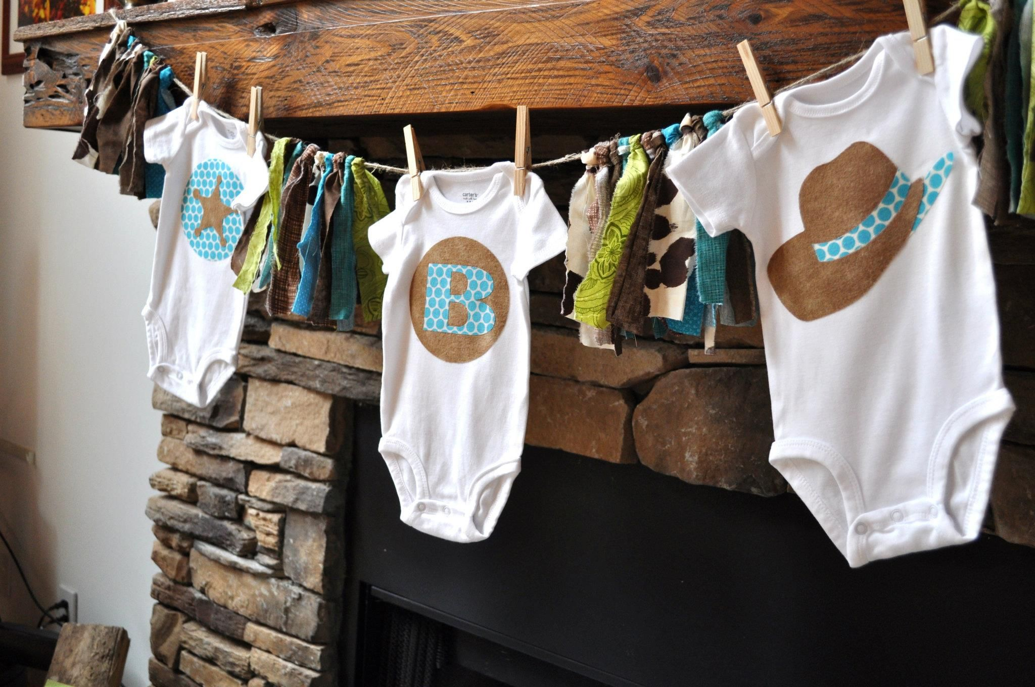 Little Cowboy Baby Shower Theme Part - 30: Baby Shower Themes