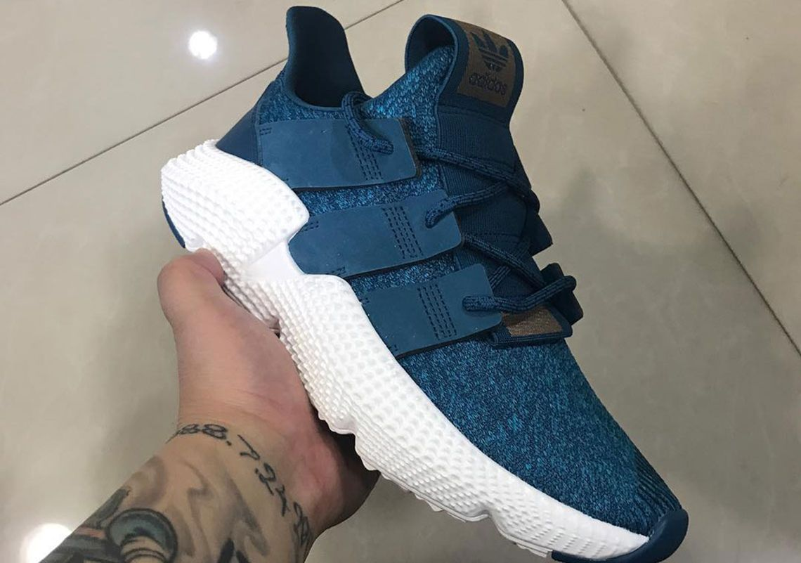 8e8ff57e6 adidas Prophere Blue Uppers 2018  thatdope  sneakers  luxury  dope  fashion   trending