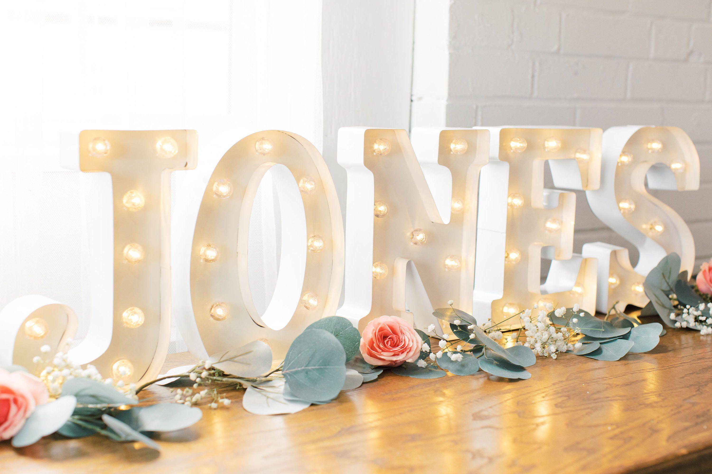 Wedding Marquee Lights/ Light up Names/ Wedding Lights
