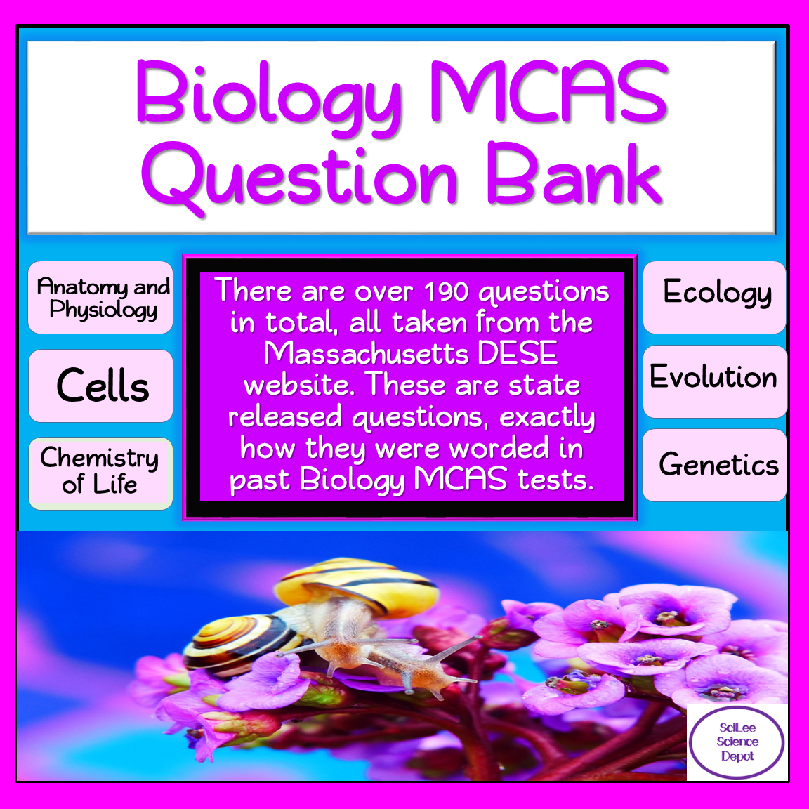 Biology Mcas Question Bank