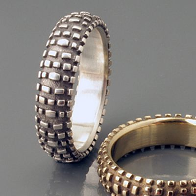 Bicycle Themed Rings