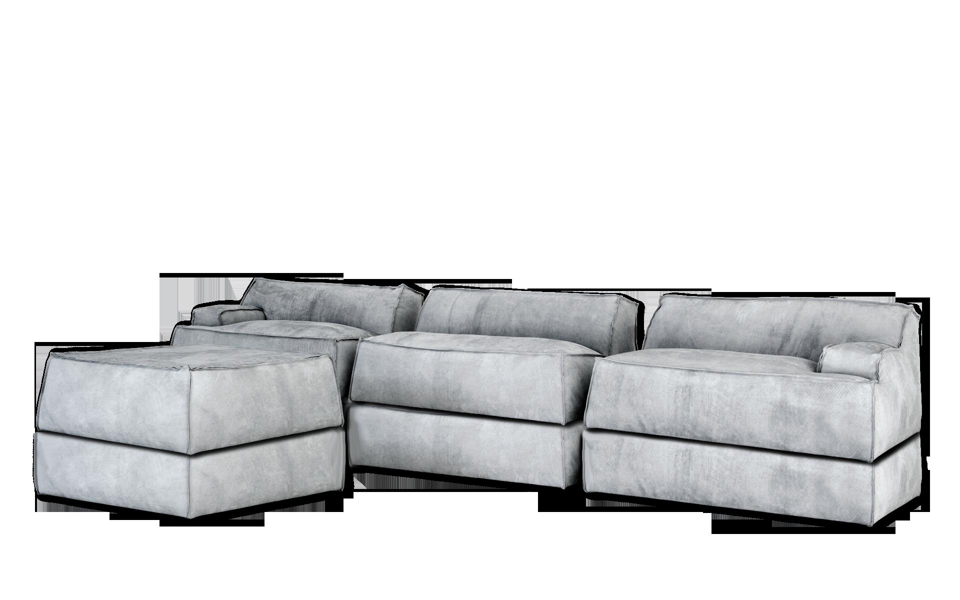 damasco - baxter | ⓢⓔⓐⓣⓘⓝⓖ | pinterest | grigio e divani - Angolo Chaise Whistler Grigio