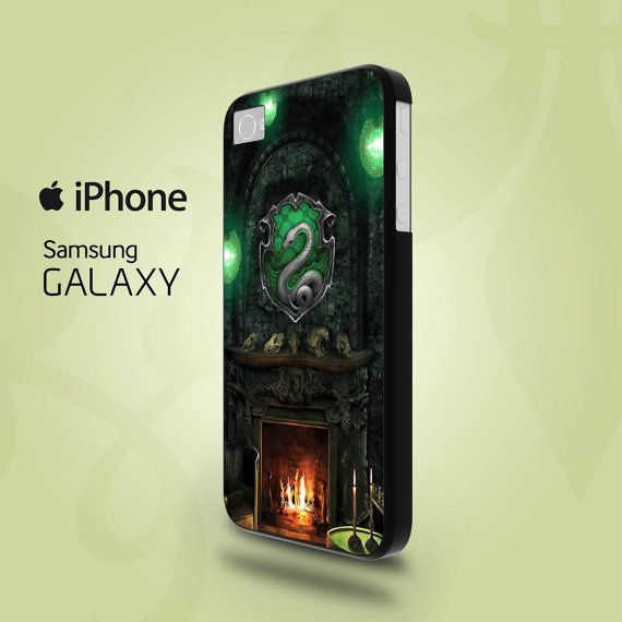 SLYTHERIN COMMON ROOM iphone case