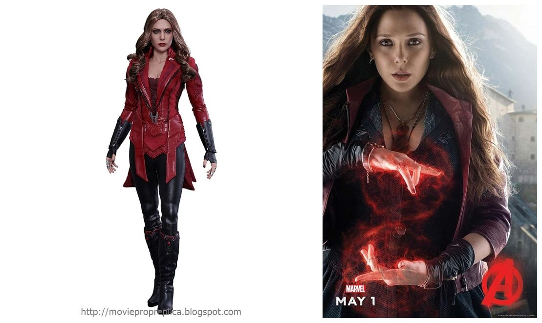 Elizabeth Olsen As Wanda Maximoff Scarlet Witch Avengers Age Of Ultron Movie Collectible Figure Ultron Movie Movie Collection Age Of Ultron