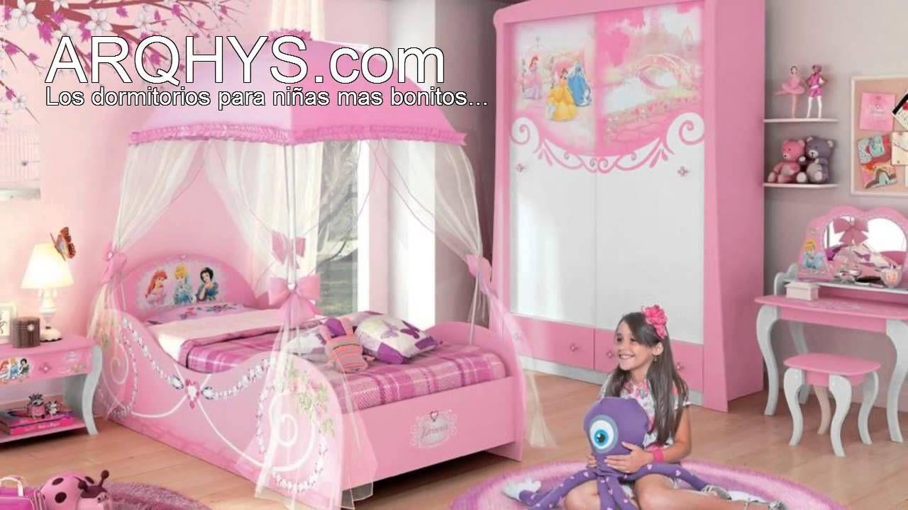 Cuartos infantiles de princesas dormitorio kids pinterest for Decoracion de cuartos infantiles