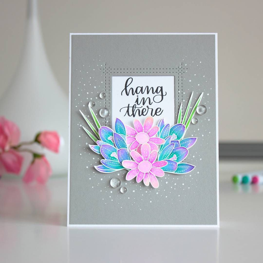 New card and video tutorial up on my blog i colored those beautiful new card and video tutorial up on my blog i colored those beautiful flowers by izmirmasajfo