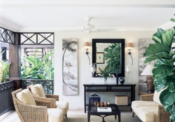 West Indies Style Living Room 571x400 Pixels