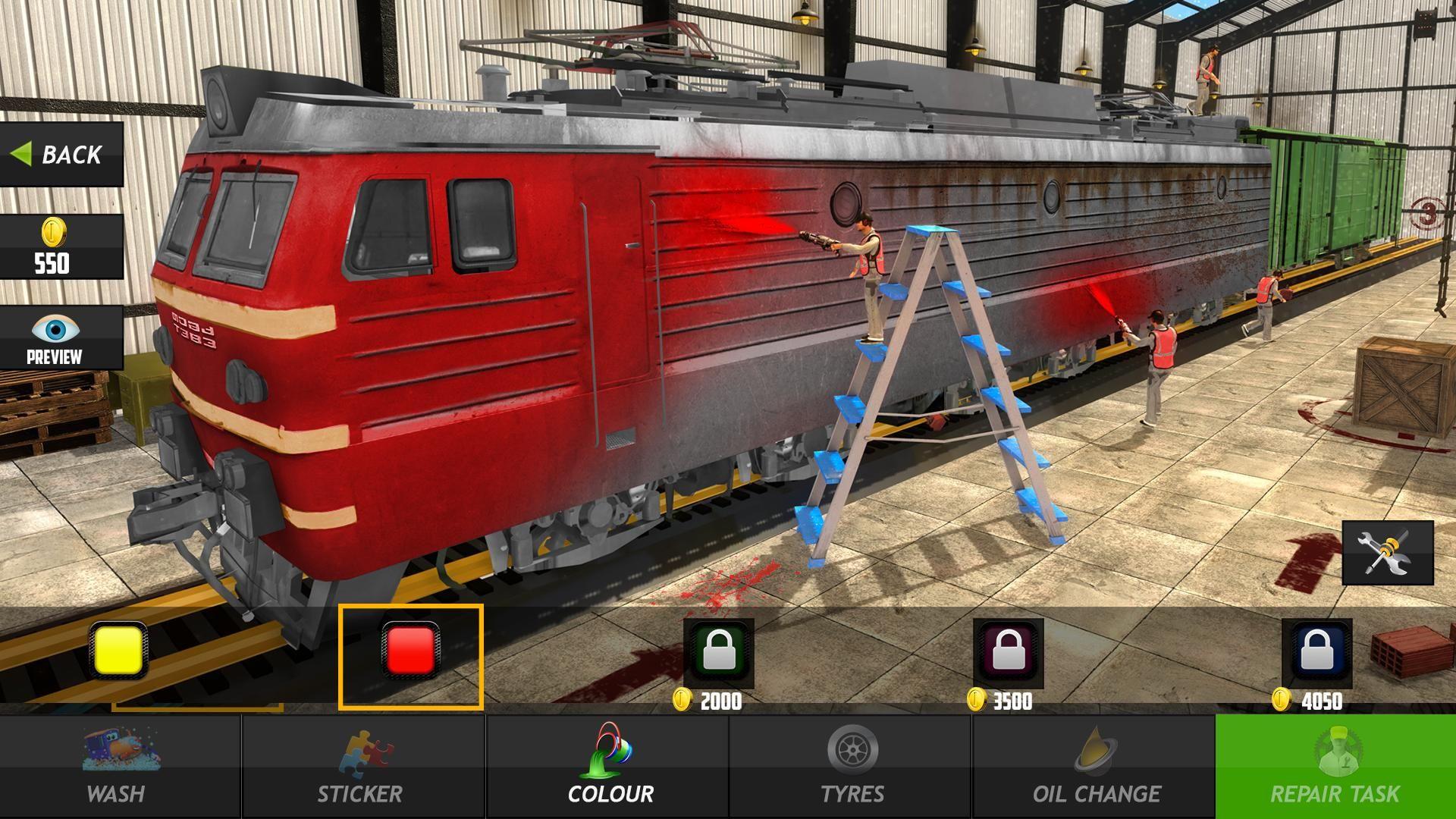 Train Mechanic Simulator 2017 Game Free Download Latest