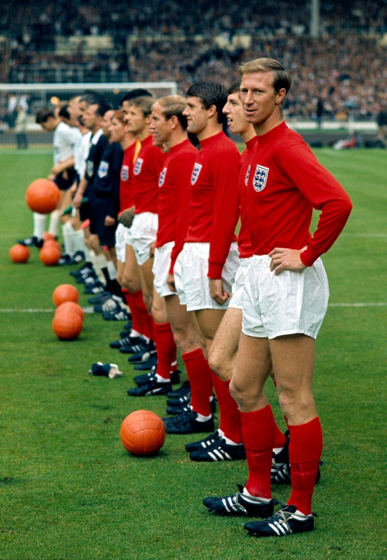 1966 ENGLAND National Football Team that won the Fifa
