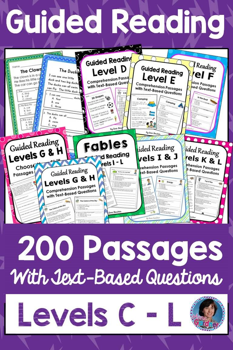 Ideal For Use During Small Group Instruction Close Reading Lessons Fluency Work As Homew Guided Reading Reading Comprehension Passages Reading Comprehension Guided reading questions pdf