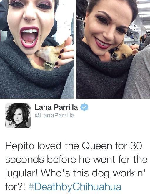 Lana Parrilla #OnceUponaTime