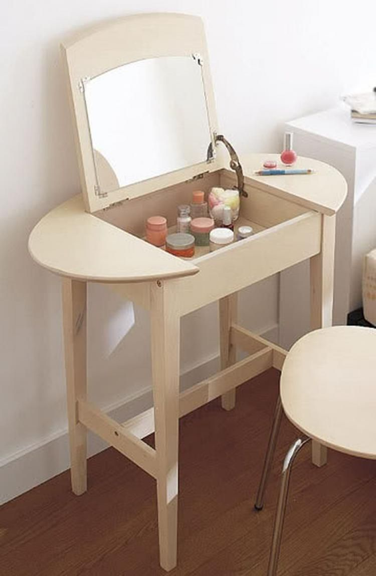 adorable make up vanity ideas suitable for small space clever