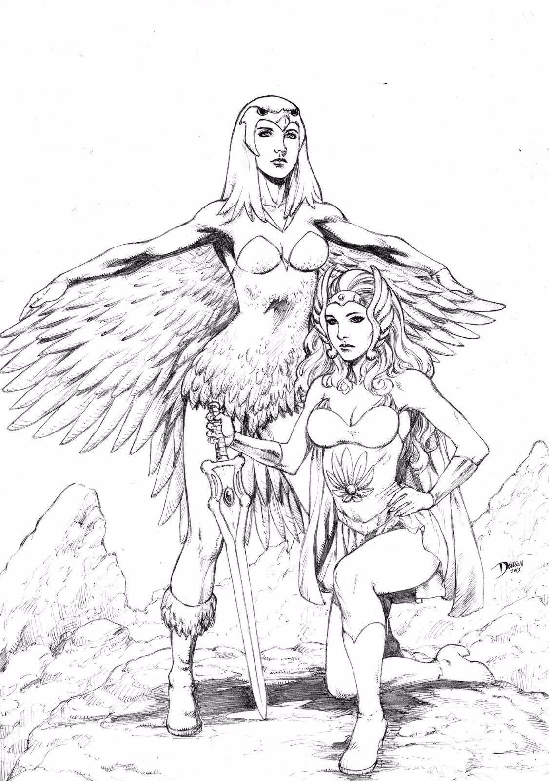 Sorceress, She-ra by Deilson   MOTU   Pinterest   Masters, Universe ...