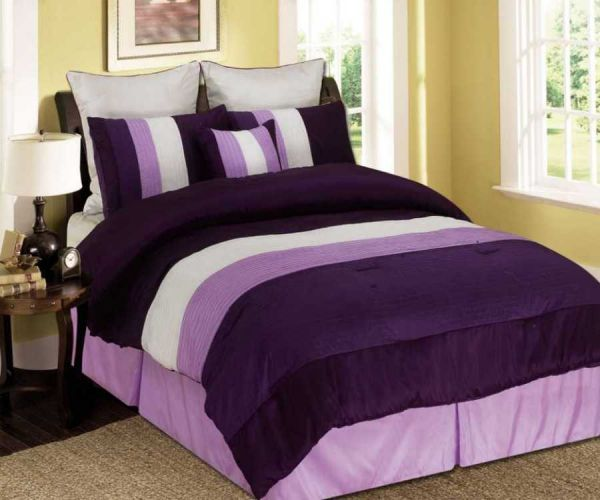 The Many Variations of Purple Comforter Sets | Trina Turk Bedding ...