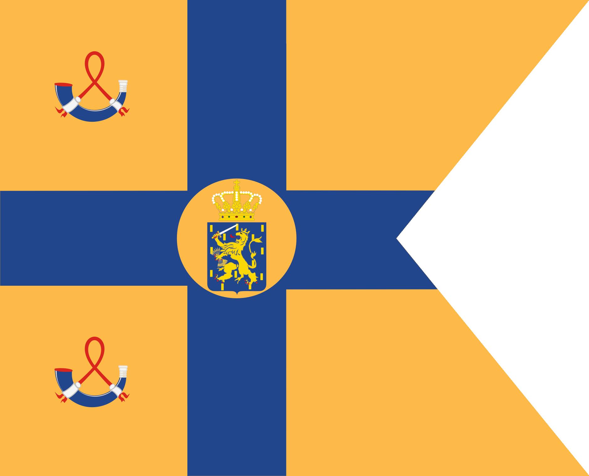 Standard of Marie von Wied, Princess of the Netherlands
