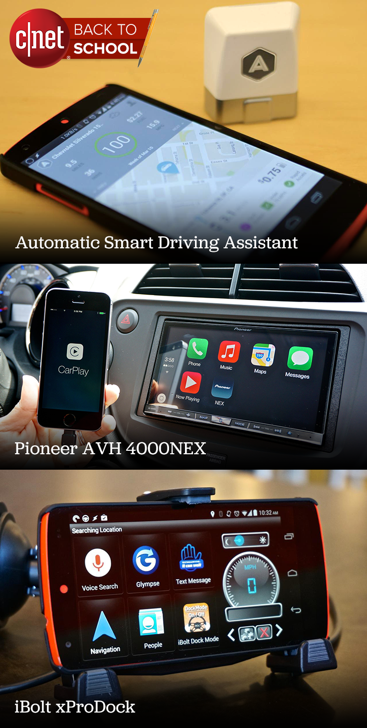 Cars and tech to get you back to school | Mobile Accessories