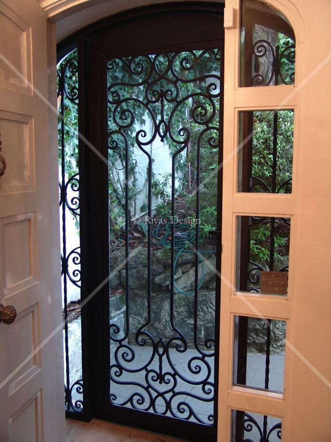 Wrought Iron Security Doors Wrought Iron Security Doors Wrought