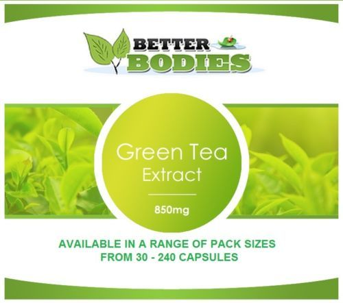Green Tea Capsules Extract 850mg Weight Loss Diet Slimming
