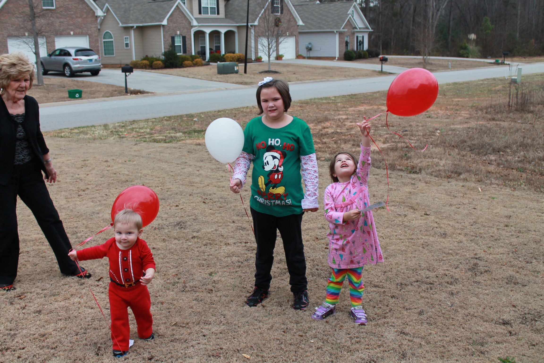 Release balloons to celebrate Jesus birthday (With images