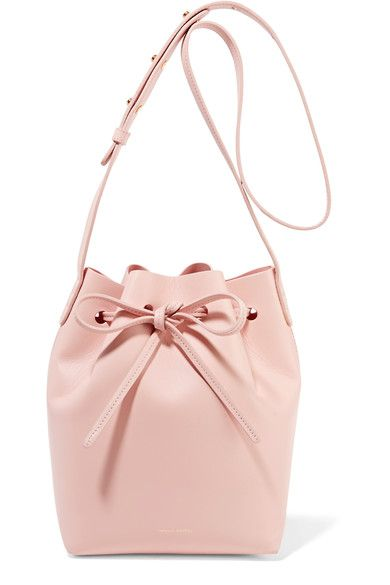 Mansur Gavriel | Mini leather bucket bag | NET-A-PORTER.COM