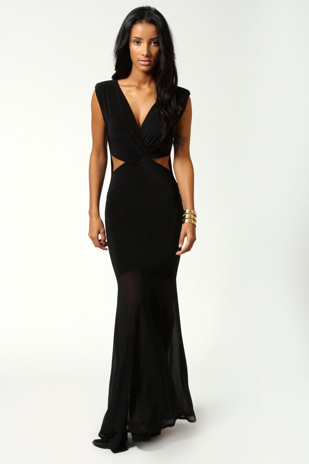 Eva crossover front fishtail maxi dress stuff to buy pinterest