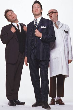 Vic Reeves Big Night Out Image Shows From L To R Bob Mortimer Vic Reeves Les Fred Aylward Copyright Channel X Big Night Out Comedy Tv My Babysitter