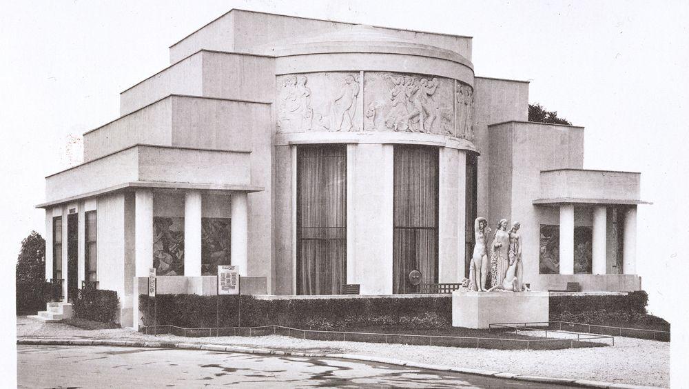 Art Deco Building In Paris Paris Art Deco Shanghailander Art deco