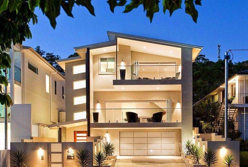 Fachadas De Casas Con Terraza Y Balcones Fachadas