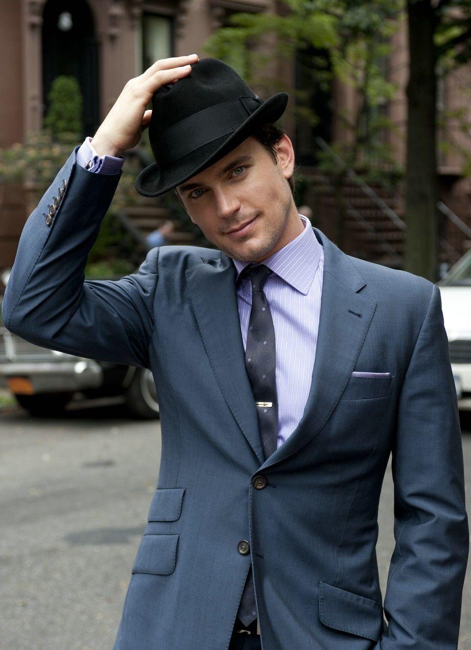Matt Bomer as Caleb Carson. Fedora 265d192284b