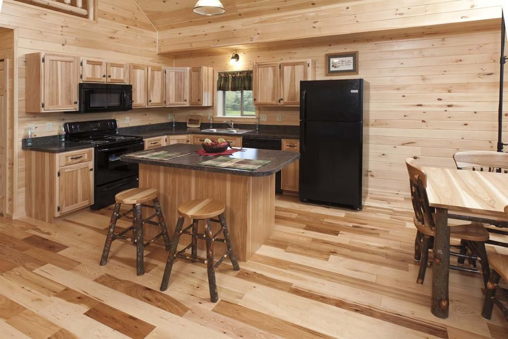 log home kitchen cabinets hickory kitchen log homes and cabins 22796