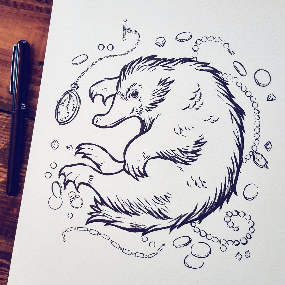 Pin By Chelsea Legge On I Love Magic Coloring Pages Fantastic Beasts And Where Art