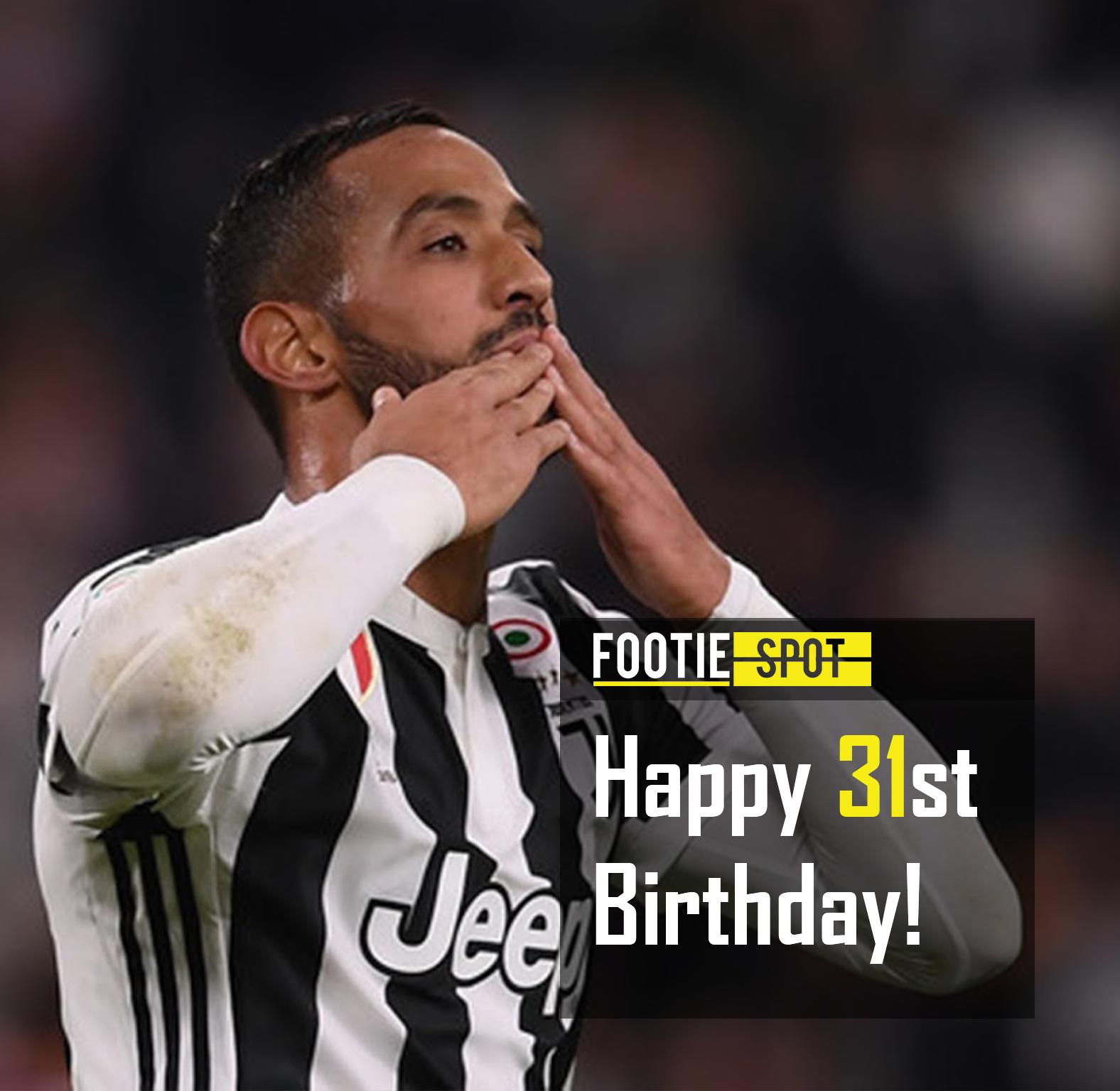 Happy 31st birthday to Medhi Benatia! 🎂 football
