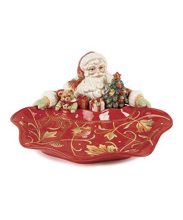 Take a look at this Bountiful Holiday Santa Server by Fitz and Floyd on #zulily today!
