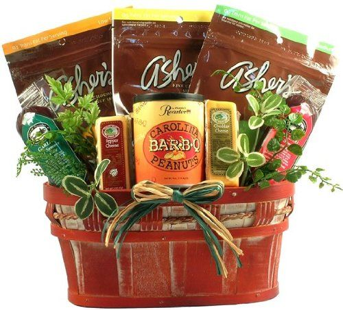 the sugar free selection healthy foods gift basket christmas gift idea