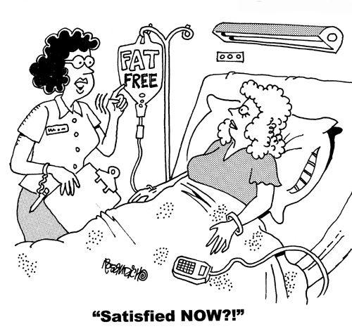 Nurse Cartoons Fat Free Humor Nurse Cartoon And Nurse