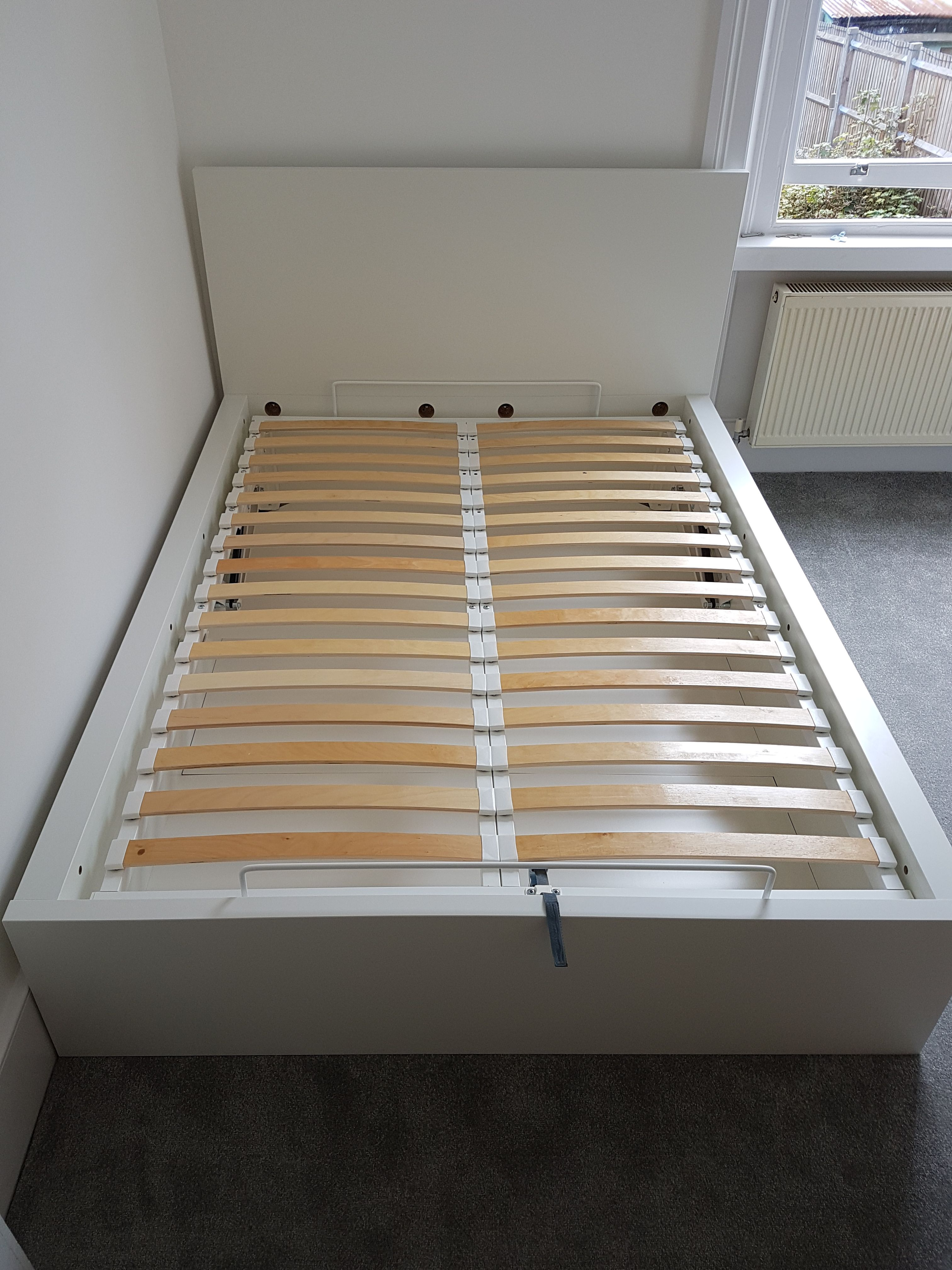 Ikea Malm Ottoman Bed With A Storage Space Ikea Furniture