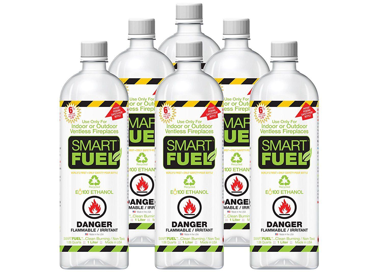 Smartfuel Pourable Liquid Bioethanol Fireplace Fuel 1/2