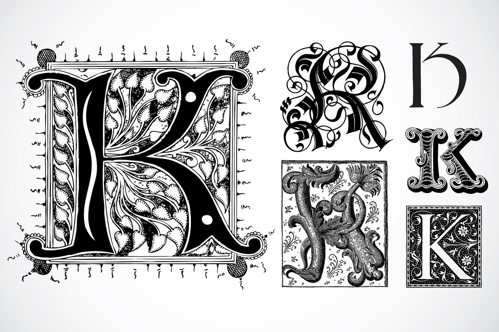 Fancy Letter K Designs The Letter K Fancy Fancy Letter K Clipart