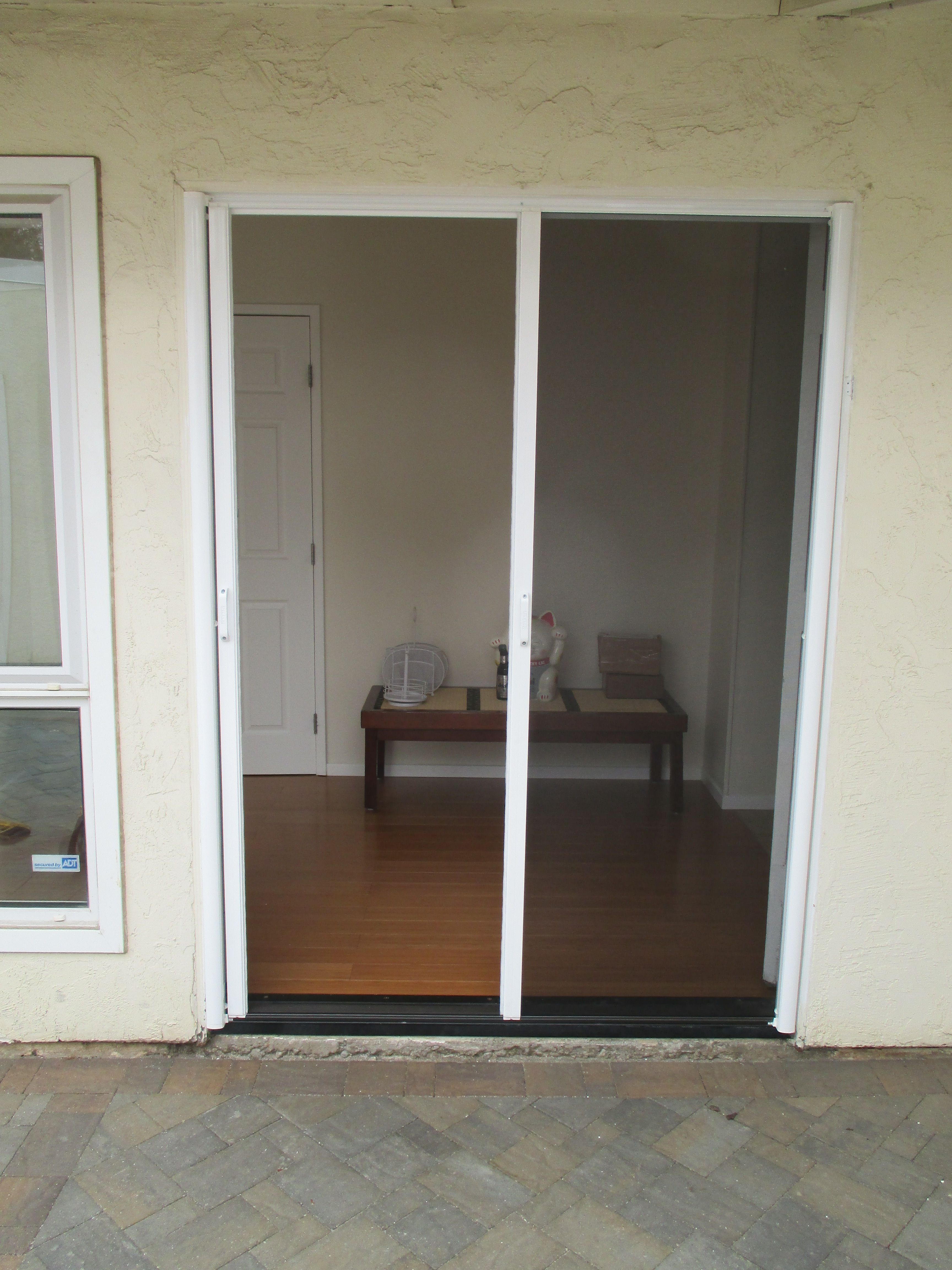 What a day of Retractable Screen Doors. The benefit of