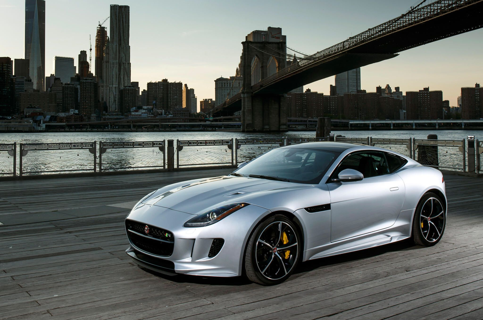 2016 Jaguar FType R Coupe First Test Review Gallery via