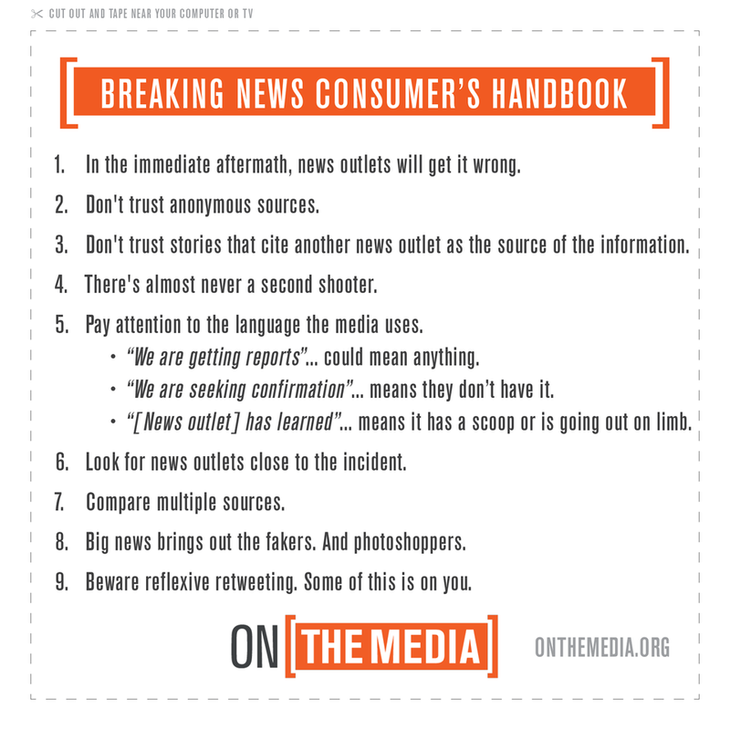 The Breaking News ConsumerS Handbook Active Shooter Edition  On