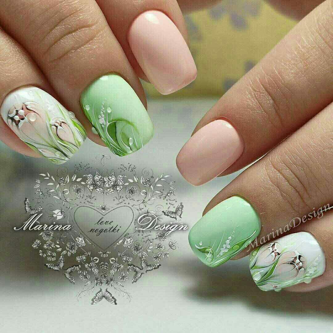 Pin de eva en Nails art | Pinterest | Uñas lindas, Maquillaje y Cosas