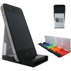 This Custom Cell Phone Stand With Screen Cleaner Is The Perfect Office  Accessory, It Allows